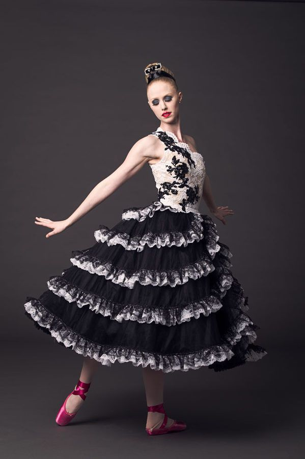 Full Design of costume for NYC Ballet - 9/2012 designed by Valentino Garavani