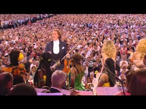 """▶ Andre Rieu - I Will Follow Him - 4.33 minutes - absolutely joyous!! """"Want a huge pick me up in the morning,"""" start your day off right! Charles Finch."""