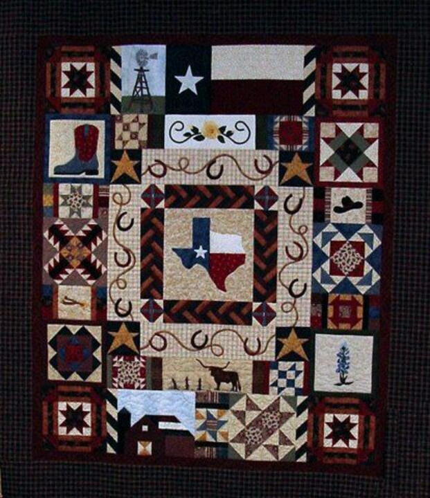 Beautiful Texas Quilt