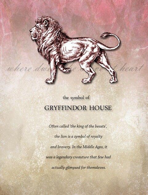 gryffindor pride.                                                                                                                                                                                 More
