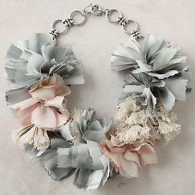 DIY anthro necklace