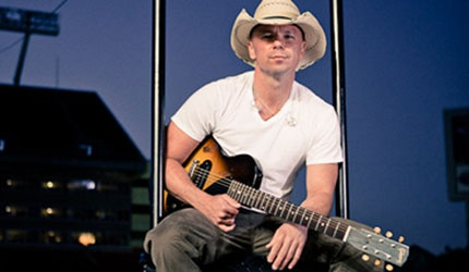 Kenny Chesney, his music is fun.  :  )