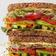 Veggie and Hummus Sandwich | Cooking Classy..