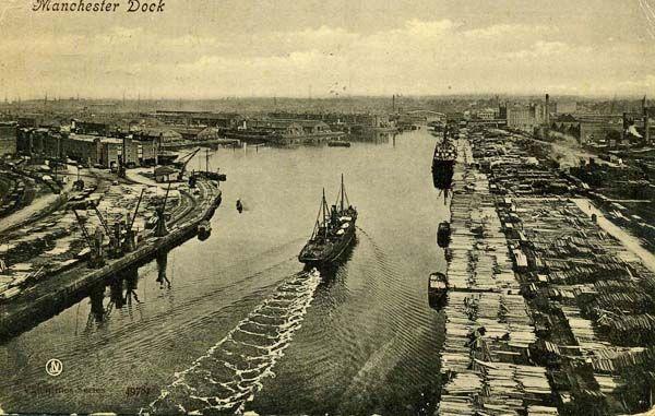 The Salford Docks