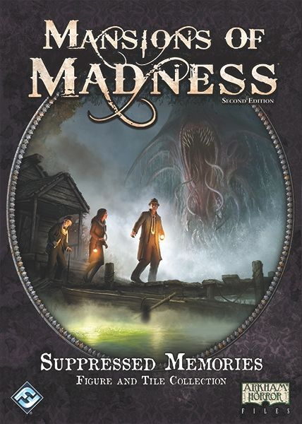 Mansions of Madness: Second Edition – Suppressed Memories – Figure and Tile Collection