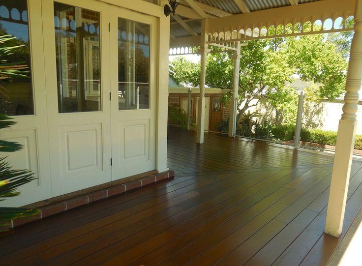 Hardwood wrap around veranda by Castlegate Home Improvements Perth