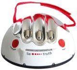 They say the truth hurts, but with this lie detector, fibbing causes pain.  Ask a few questions so the built-in computer can analyze the responses. They may get away with a few white lies at first, but if they lie once your interrogation is fully underway, the results can be truly shocking. Literally!