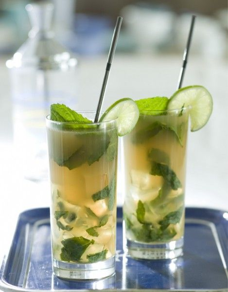 Marijuana recipes: how to make a cannabis coconut mojito