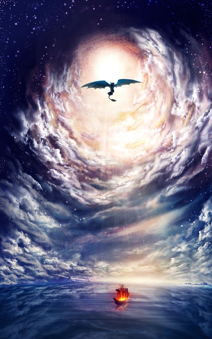 Norse Funeral - How to train Your Dragon 2 by 6worldangel9.deviantart.com on @deviantART
