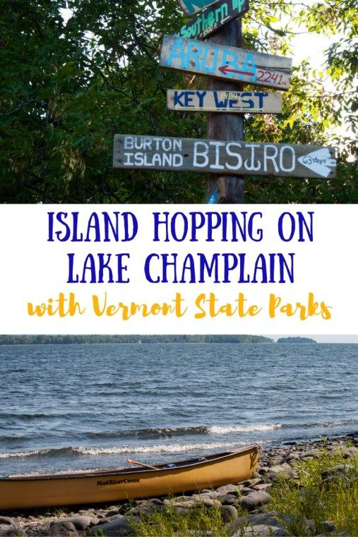 There are 10 Vermont State Parks in the Lake Champlain Islands! Here's how to…
