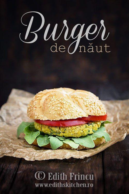 Burgeri de naut - alternativa sanatoasa si satioasa la burgerii din carne. Cu…