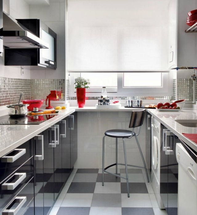 269 best Cocinas images on Pinterest   Apartments, Kitchen ideas and ...