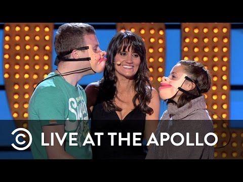 Freakin hilarious!!! Ventriloquist Nina Conti: Live at the Apollo - Comedy Central UK