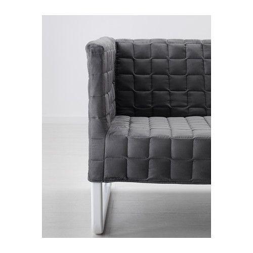 KNOPPARP 2er-Sofa - grau - IKEA