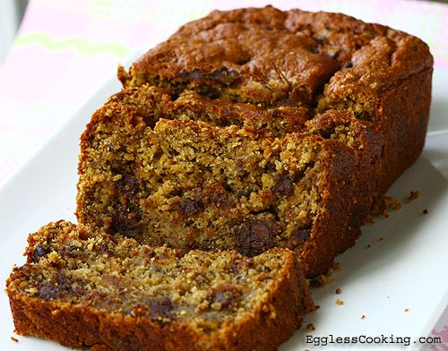Vegan Peanut Butter Banana Bread...Delicious! Although I did not use ...
