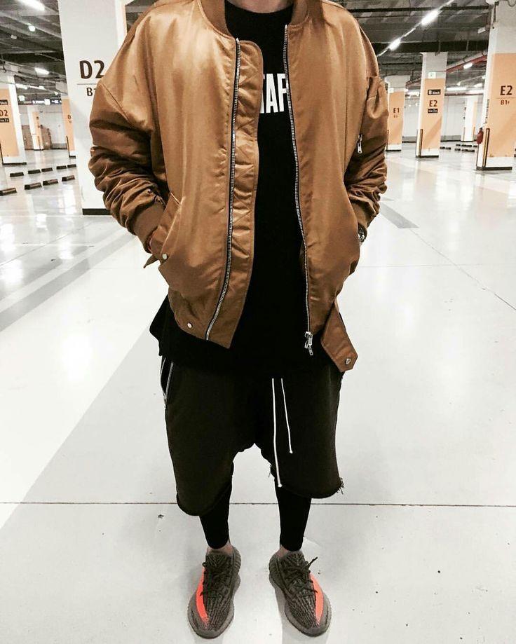 Winter Post Apocalyptic Jacket Men Street Fashion Instagram