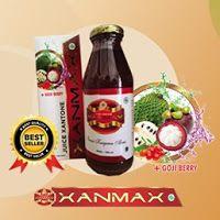 Xanmax merupakan kombinasi jus generasi terbaru hasil paduan daun sirsak pilihan, Kulit manggis, Gojiberry dan Madu kualitas nomor satu. Xanmax sangat efektif untuk pencegahan penyakit berbahaya, membantu menyembuhkan, membuang racun, memulihkan menyehatkan seluruh organ tubuh dan menwujudkan semua impian anda untuk hidup sehat serta menjauhkan anda dari berbagai macam penyakit.order sms 0877-7779-5871