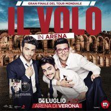 Il tour mondiale si chiuderà con uno straordinario concerto-evento il 4 luglio all'Arena di Verona! Biglietti in vendita dalle ore 16 dell'1 febbraio su TicketOne.it!