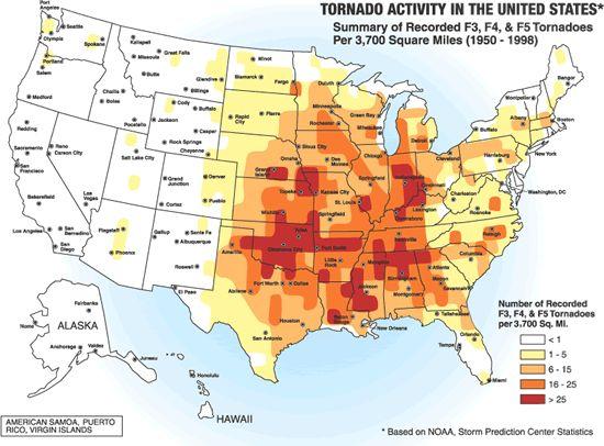 Interactive Tornado Map from Wunderground  http://www.wunderground.com/tornado