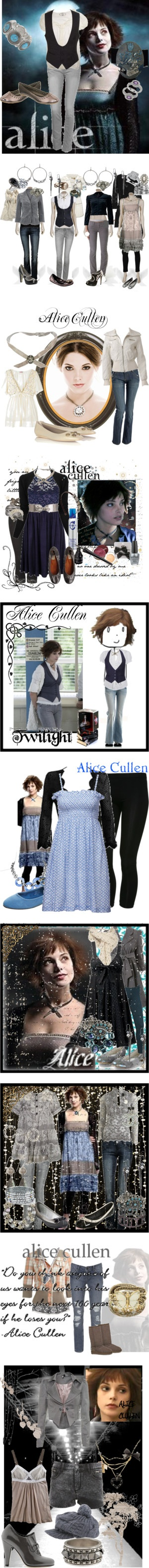 """Alice Cullen"" by flying-in-the-clouds on Polyvore                                                                                                                                                                                 Plus"