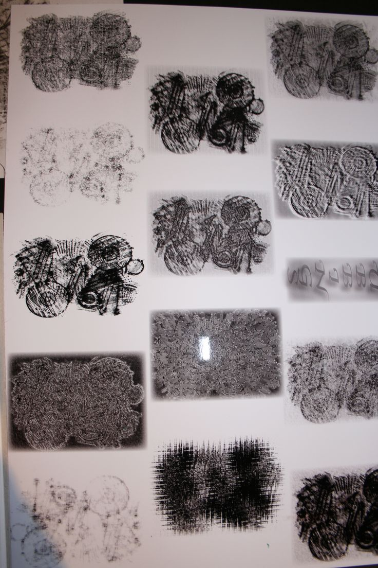 Texture rubbings manipulated in photo shop to simulate stitching