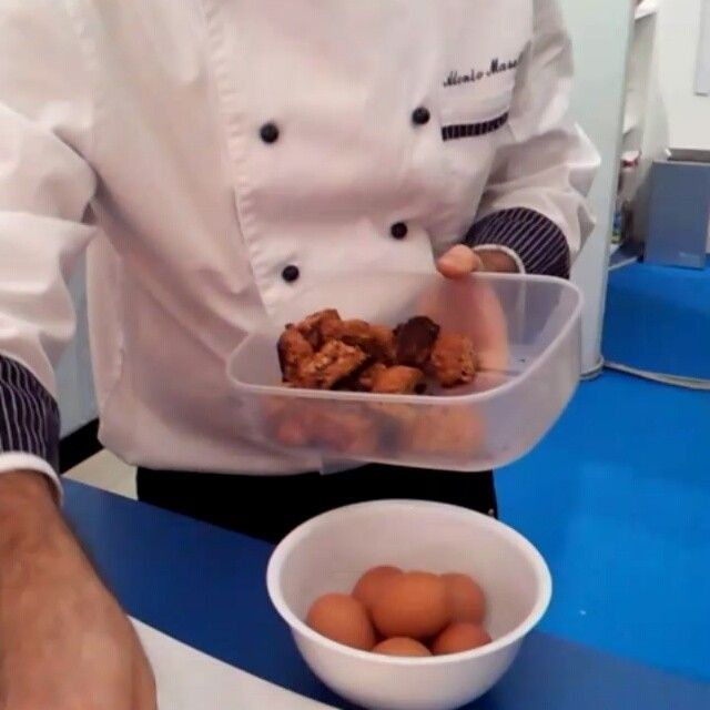 @Cruisinaltitude.com istagram video while learning how to make Rose Cake from Puglia :)  Thanks Kerwin! #WTM13 #WeAreinPuglia
