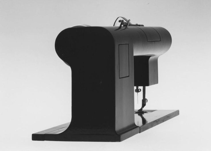 Richard Sapper 1962 Industrial sewing machine (prototype) Necchi Pavia With Marco Zanuso