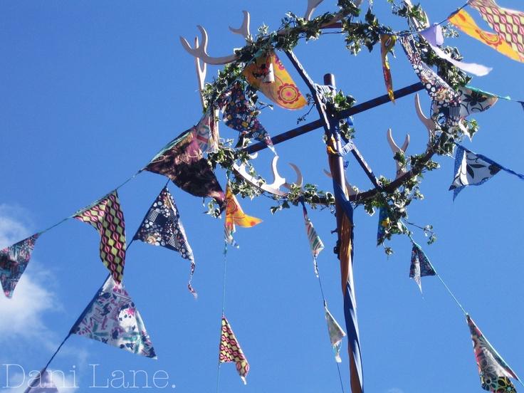 Bring back summer.. bunting... festivals.