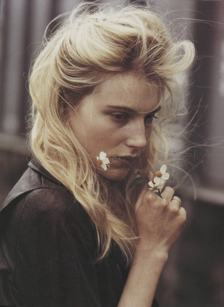 Dree Hemingway by Bruce Weber for Vogue Italia