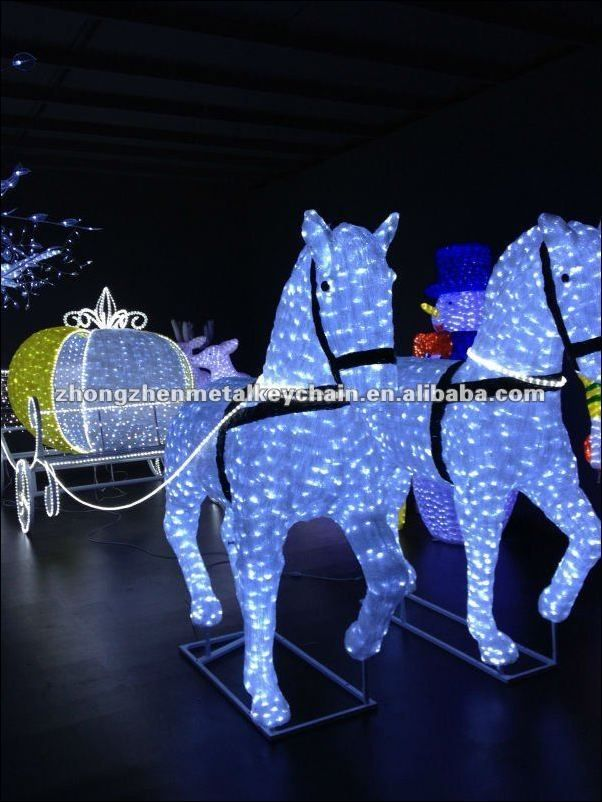 Led Christmas Outdoor Decorations