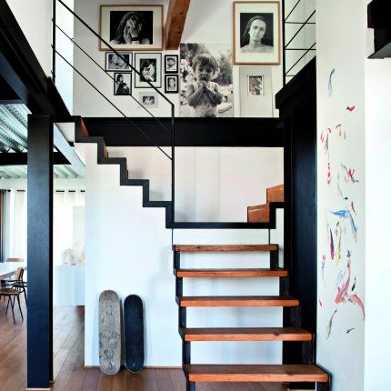 8 best CIRculation images on Pinterest Stairs, Ladders and Staircases - maison en beton banche