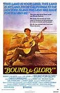 Bound for Glory (1976). [PG] 147 mins. Starring: David Carradine, Ronny Cox, Melinda Dillon, Gail Strickland, Randy Quaid, Wendy Schaal, Mary Kay Place, M. Emmet Walsh and James Hong