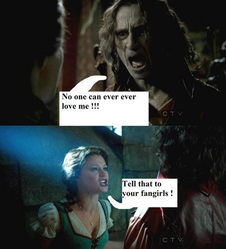 When Belle discovered Tumblr.