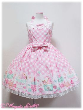 AP pink Sugar Fairy Cake Halterneck JSK « Lace Market: Lolita Fashion Sales and Auctions