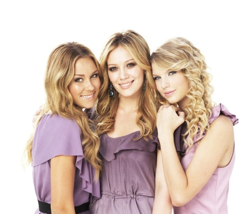 lauren conrad, hilary duff, and taylor swift...are you kidding me my three favorite people ever