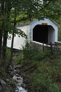 Wish people would put a description with their pins but even so this is a lovely covered bridge.