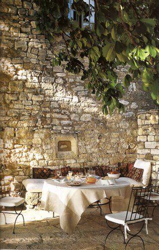 Terraza. Muebles de forja. www.fustaiferro.com