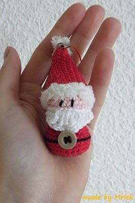 Amigurumi Santa Claus