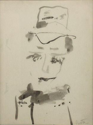 Mark Rothko / Newman by Rothko. 1949