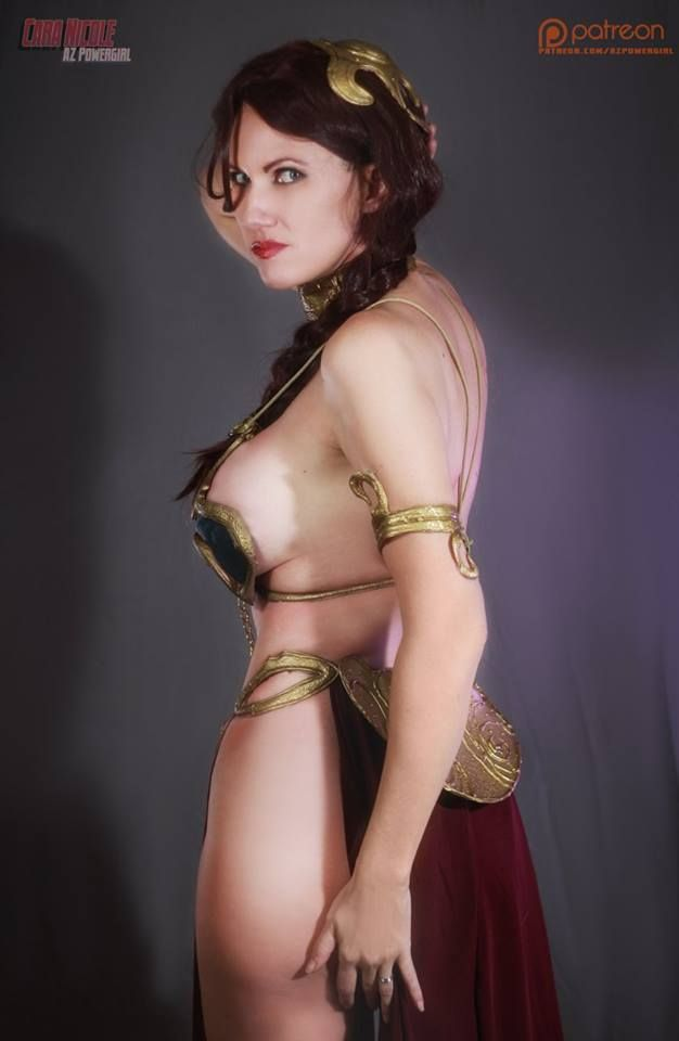 Can az power girl naken tempting