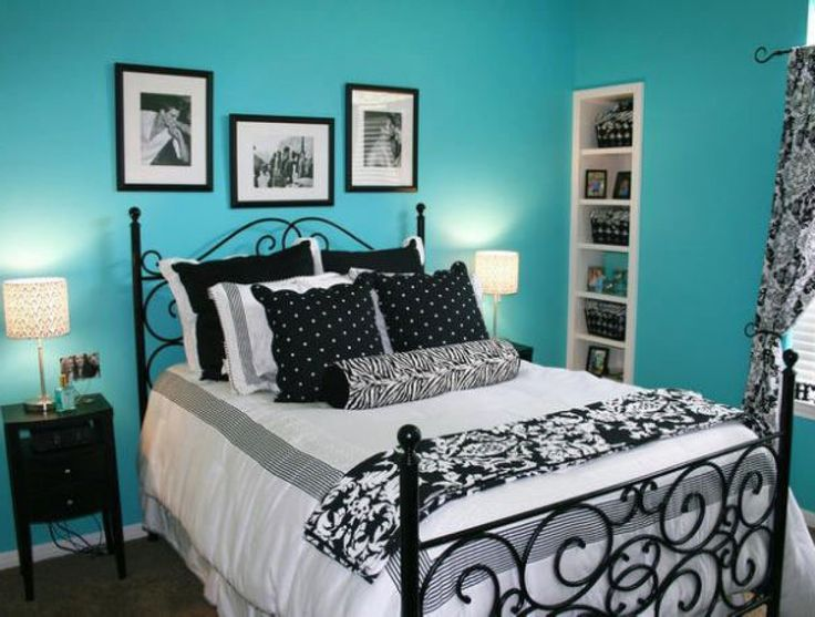 Best Bedroom Ideas With Black Furniture And Blue Walls Home 640 x 480