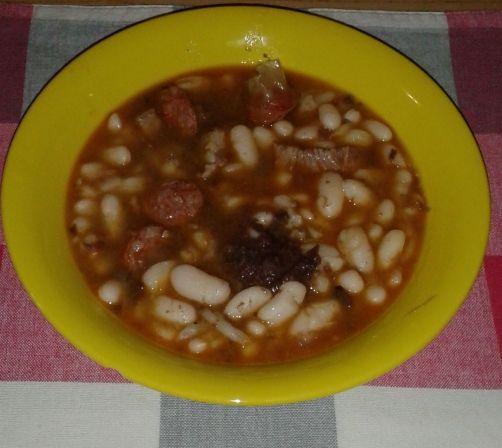 Alubias estofadas para #Mycook http://www.mycook.es/receta/alubias-estofadas/