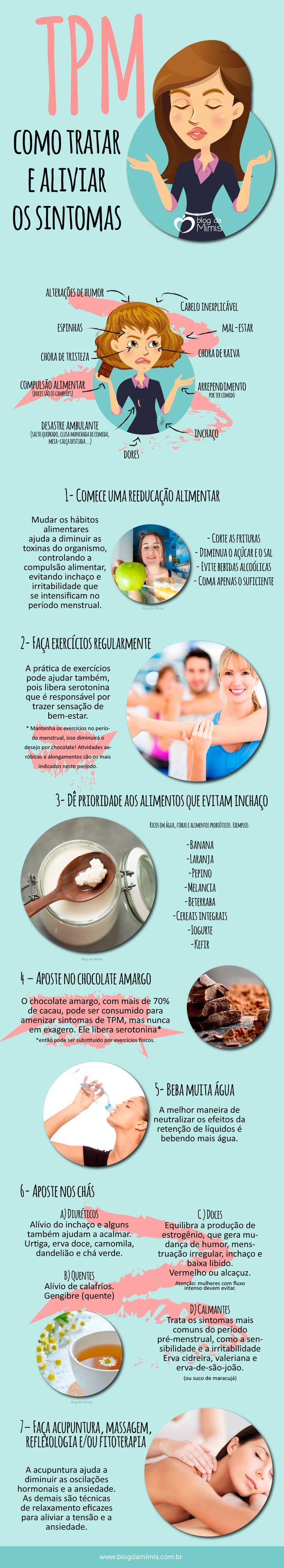 TPM: como tratar e aliviar os sintomas - Blog da Mimis #TPM #mulher #sintomas #hormonal #menstrual #dieta #inchaço #alimentação