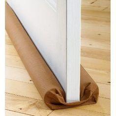 Pool Noodle draft stopper for bottom of door.  sc 1 st  Pinterest & 42 best Draft Stoppers images on Pinterest | Draft stopper Door ...