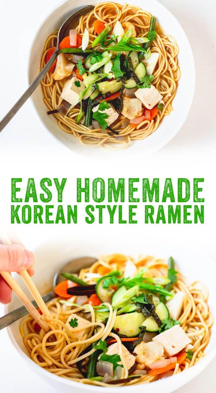 Easy Korean Ramen