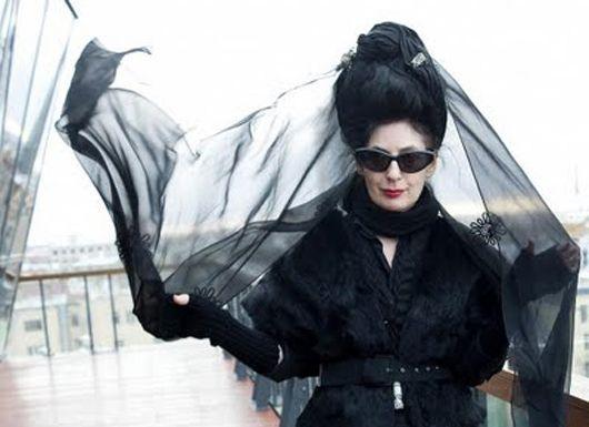 Lady In Black Diane Pernet