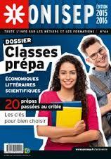 Dossiers Onisep - Octobre 2015. Les classes prépa.