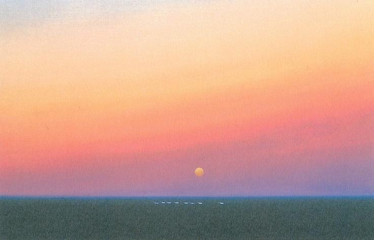 葉祥明美術館 : いい歳、りょうちゃんの春夏秋冬、土曜日歳時記