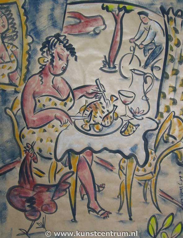 via kunstcentrum.nl Painting Eddy Varekamp