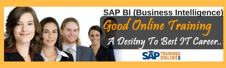 SAP BI Training Importance of SAP BI and Emerging Trends    SAP BI (Business Intelligence) is a platform used by SAP systems to provide business organizations with ease of sharing information that is required by the entire organization. It enables to share information at each and every level of organization employees for better